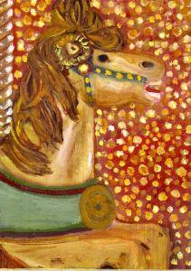 carousel-horsey