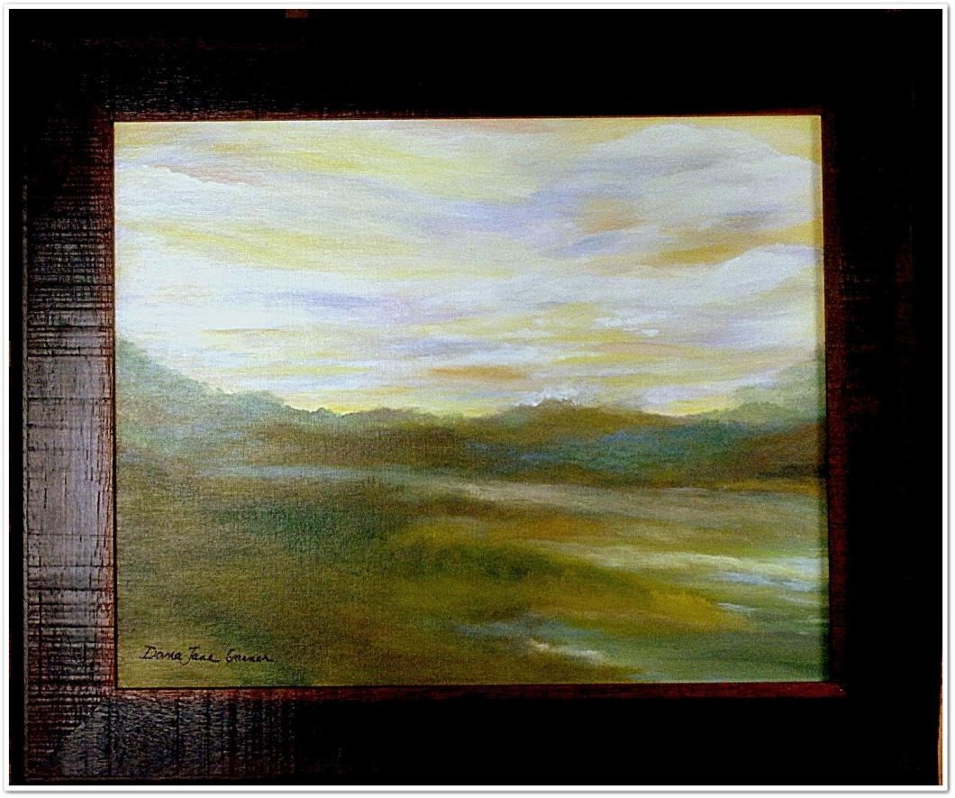 Surrendered Mist 16X20 Oil on Canvas Board $350