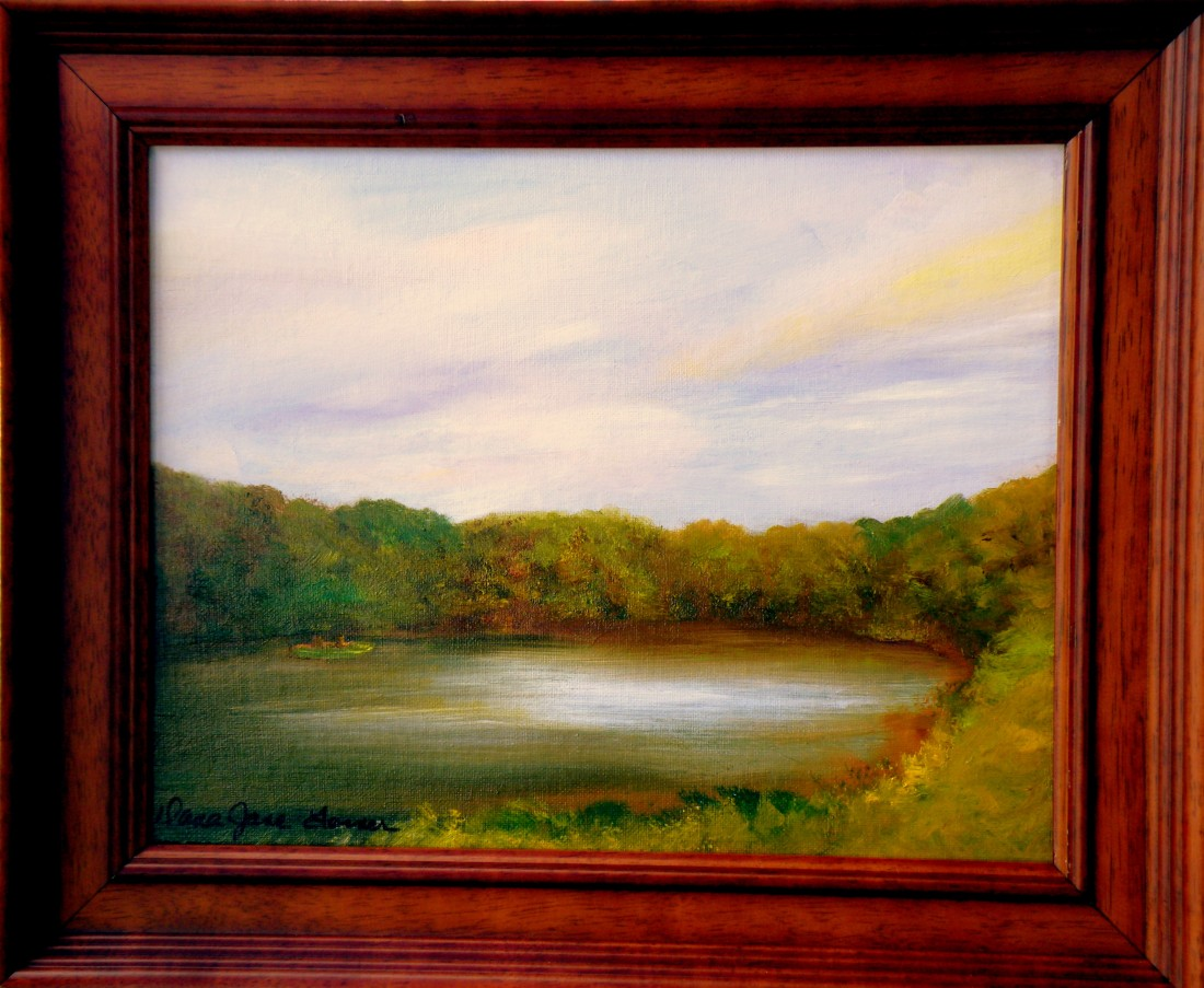 Scenic Lake 11x14